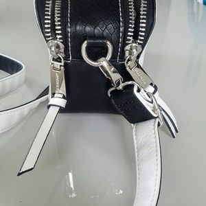Steve Madden Bags - Steve Madden Bwallace White Grommets Crossbody Bag